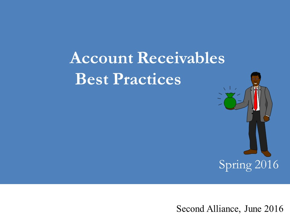 AR Best Practices  Second Alliance Webinar June 2016